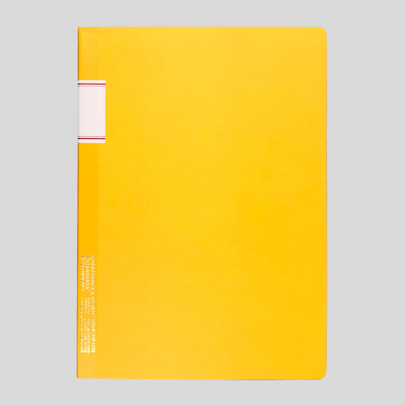 STALOGY 016 VINTAGE NOTEBOOK - YELLOW.