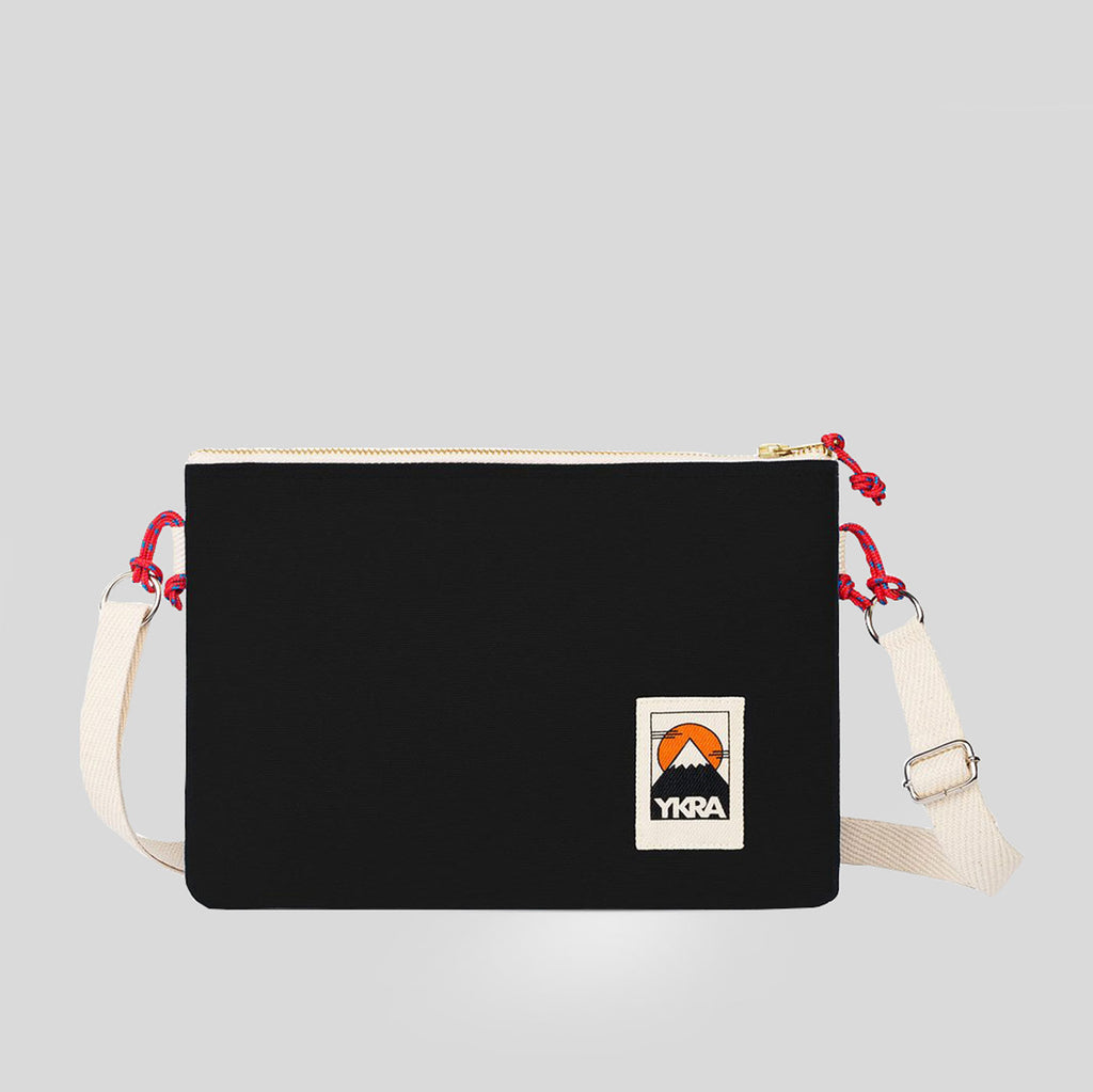 YKRA Side Pouch - Black - Colours May Vary