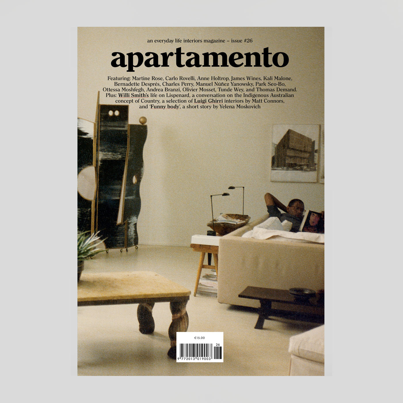 Apartamento Magazine #26 | Colours May Vary