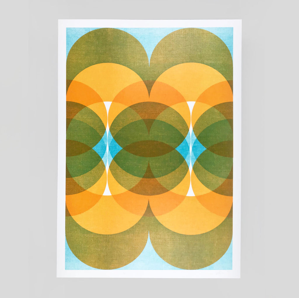 'Arboria' Letterpress Print by The Print Project