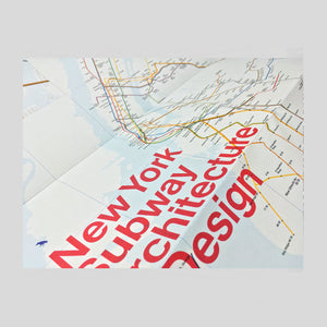 New York Subway Architecture & Design Map - Colours May Vary