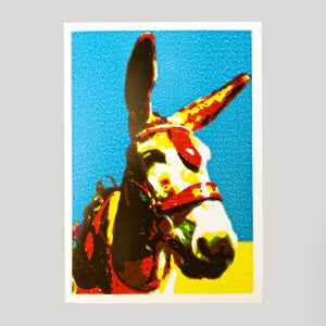 Ben Denning - Donkey Card - Colours May Vary