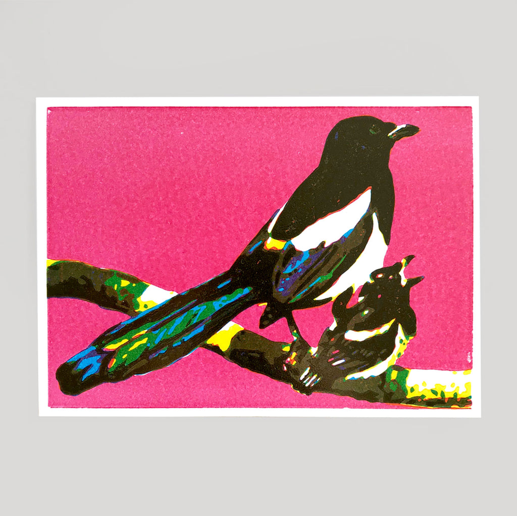 Ben Denning - Magpie Card - Colours May Vary