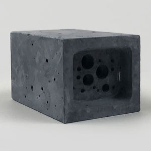 Small Bee Brick (Charcoal) - Green&Blue - Colours May Vary
