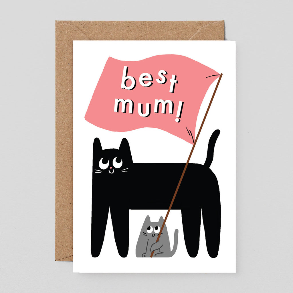Elliot Kruszynski For Wrap - Best mum Card
