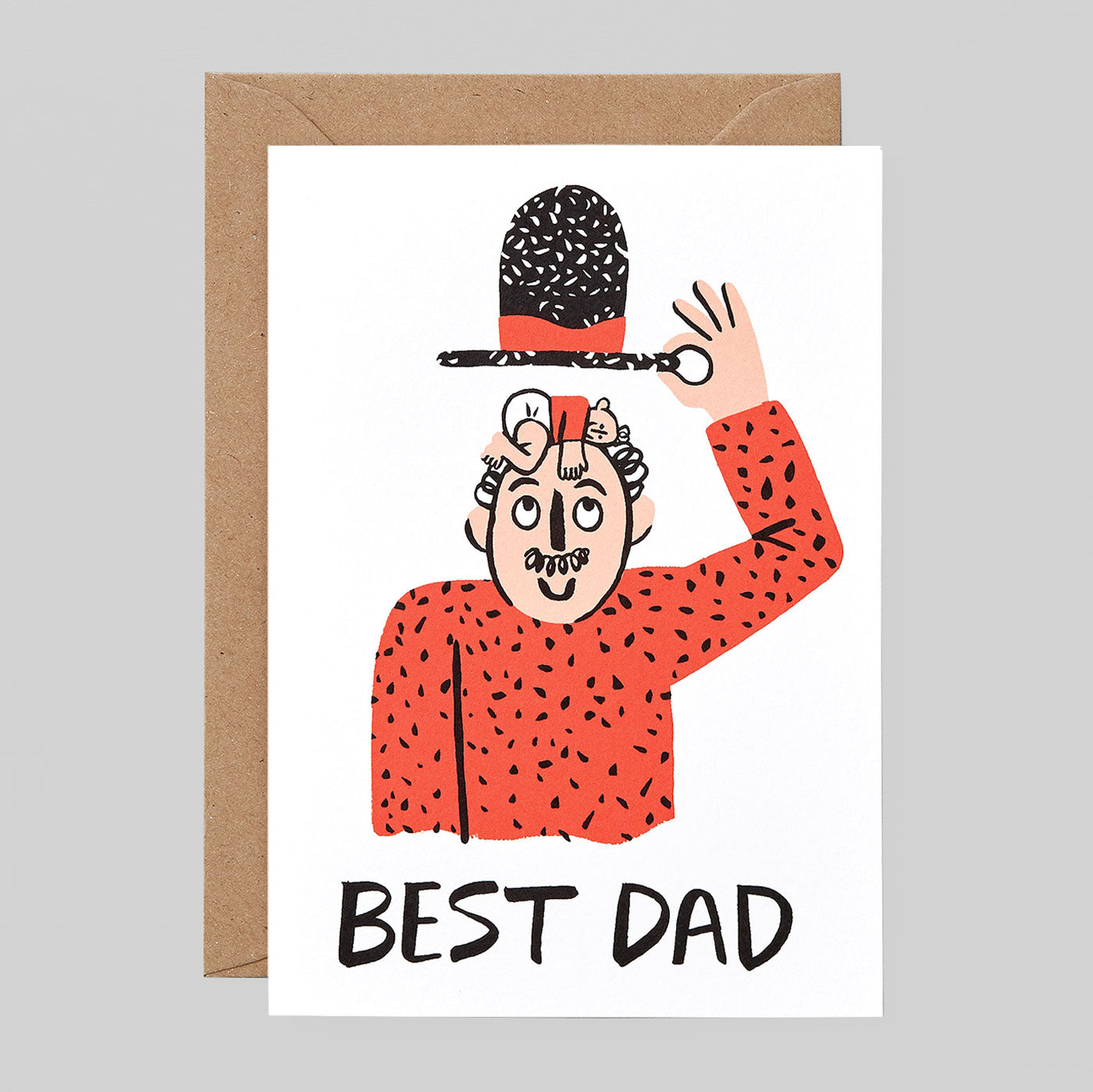 Cari Vander Yacht For Wrap - 'Best Dad' Card - Colours May Vary