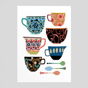 Brie Harrison - Folk Collection Card - Colours May Vary