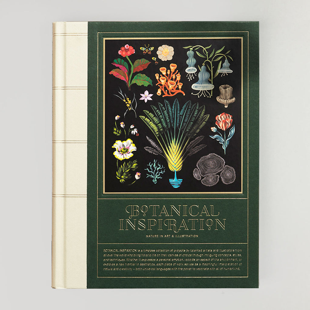 Botanical Inspiration: Nature in Art and Illustration - Colours May Vary