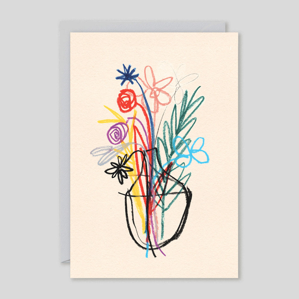 B.D. Graft for Wrap | 'Bouquet' Card | Colours May Vary