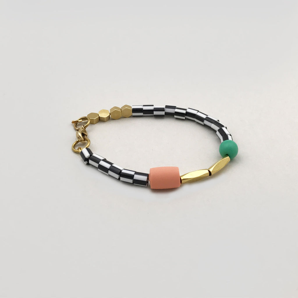 Loela 'Green Dot' Bracelet