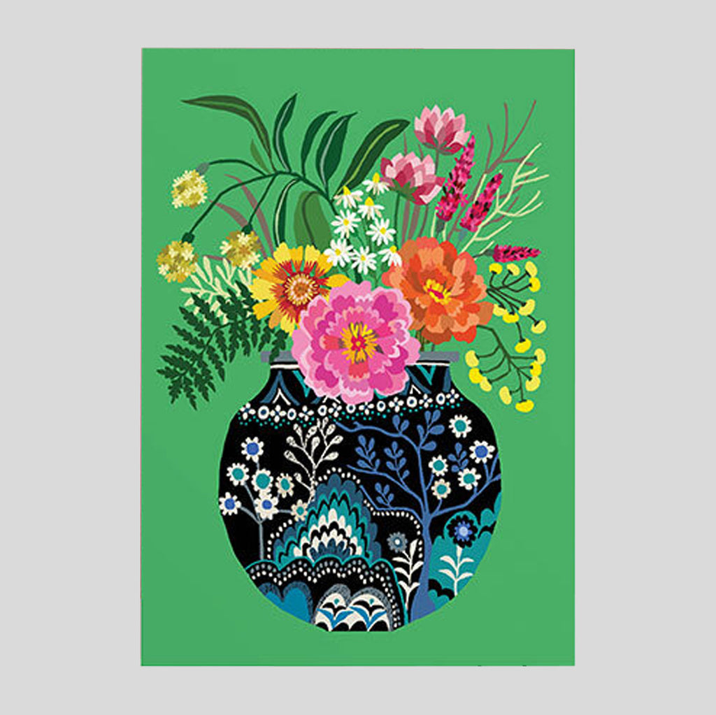 Brie Harrison - Fleurs Card - Colours May Vary