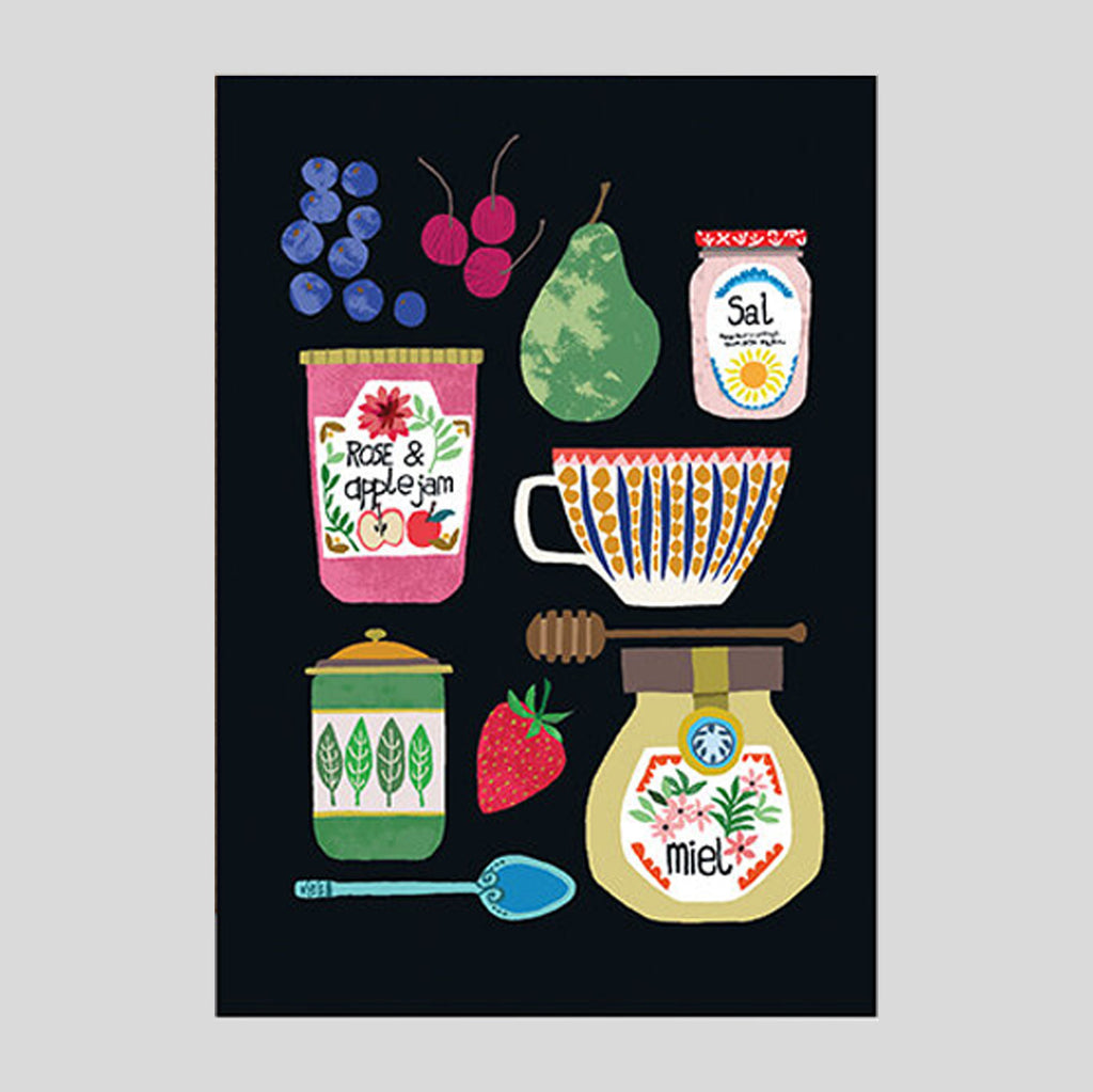 Brie Harrison - Vintage Kitchen Card - Colours May Vary