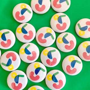 Colours May Vary Button Badge