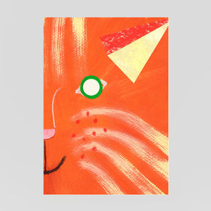 Hadley Paper Goods - Cat Mask Card