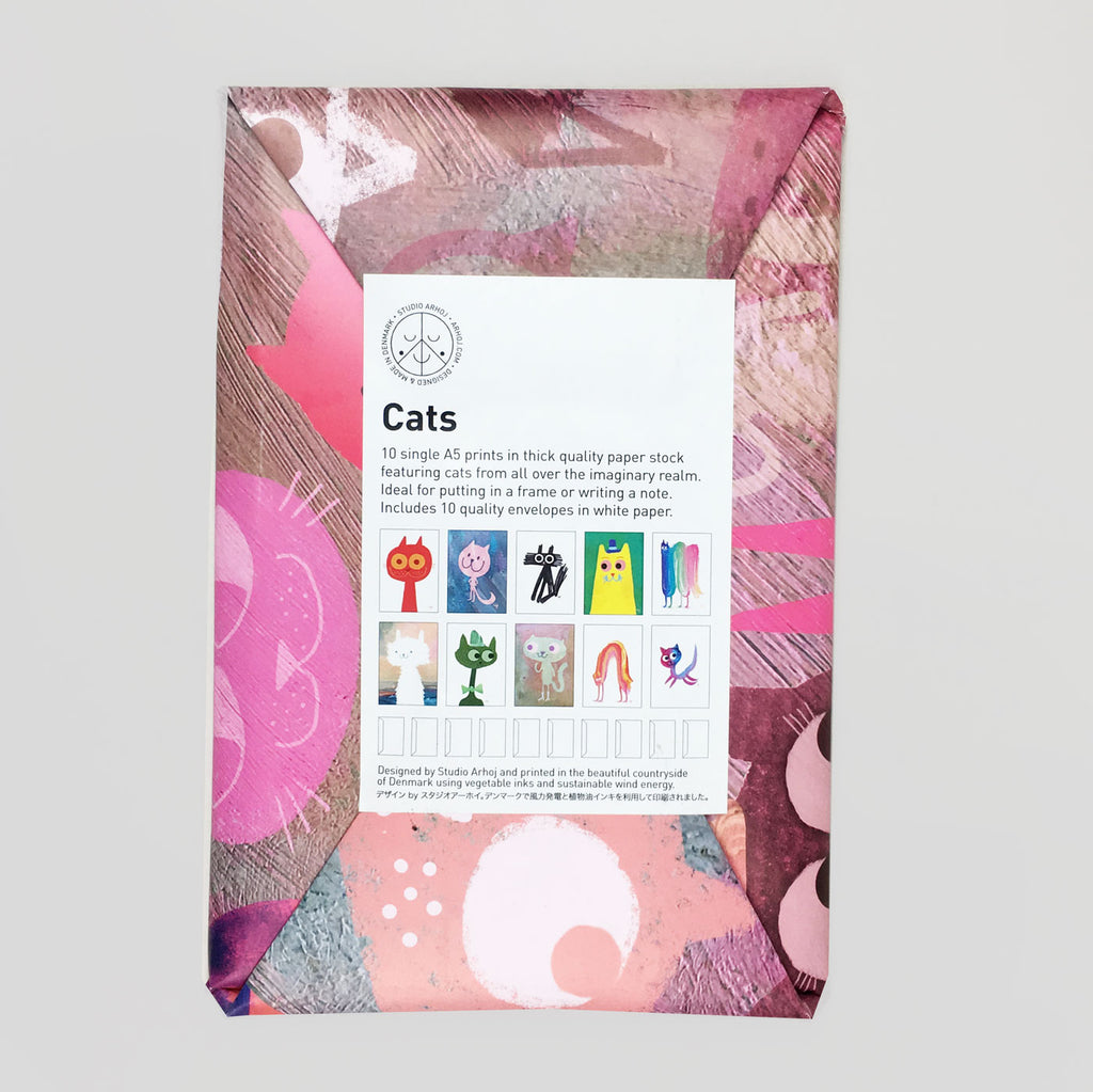 Cats Paper Pack by Studio Arhoj