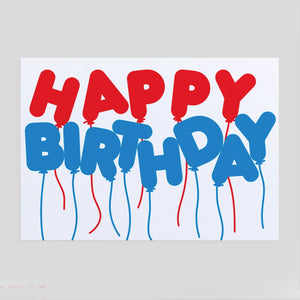 Copy of Crispin Finn | Happy Birthday Balloons Card | Colours May Vary