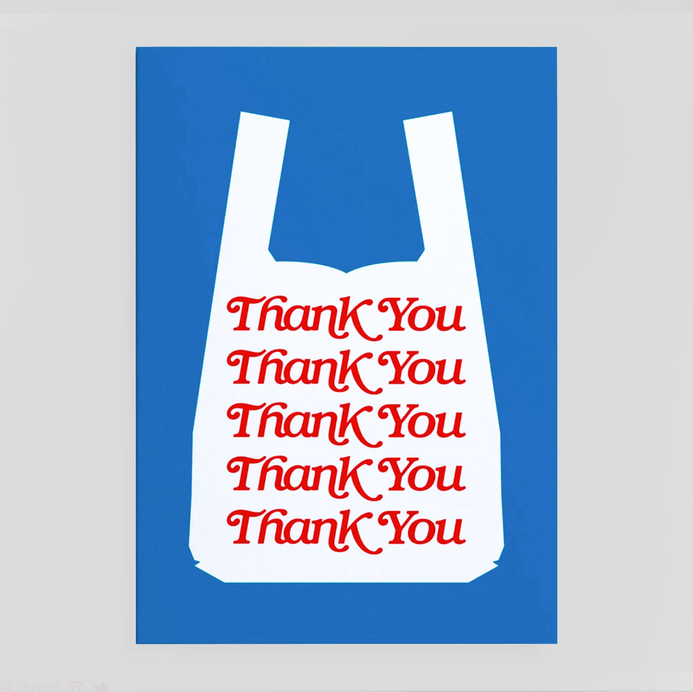 Crispin Finn | Thank You Shopper Card | Colours May Vary