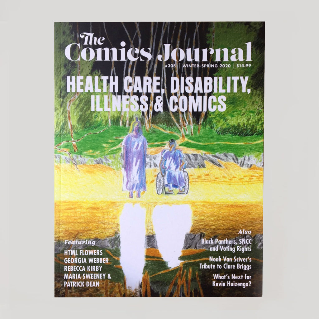 The Comics Journal #305 'Health Care, Disability & Illness' - Colours May Vary