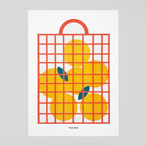 Clementines Print by Scout Editions - Colours May Vary