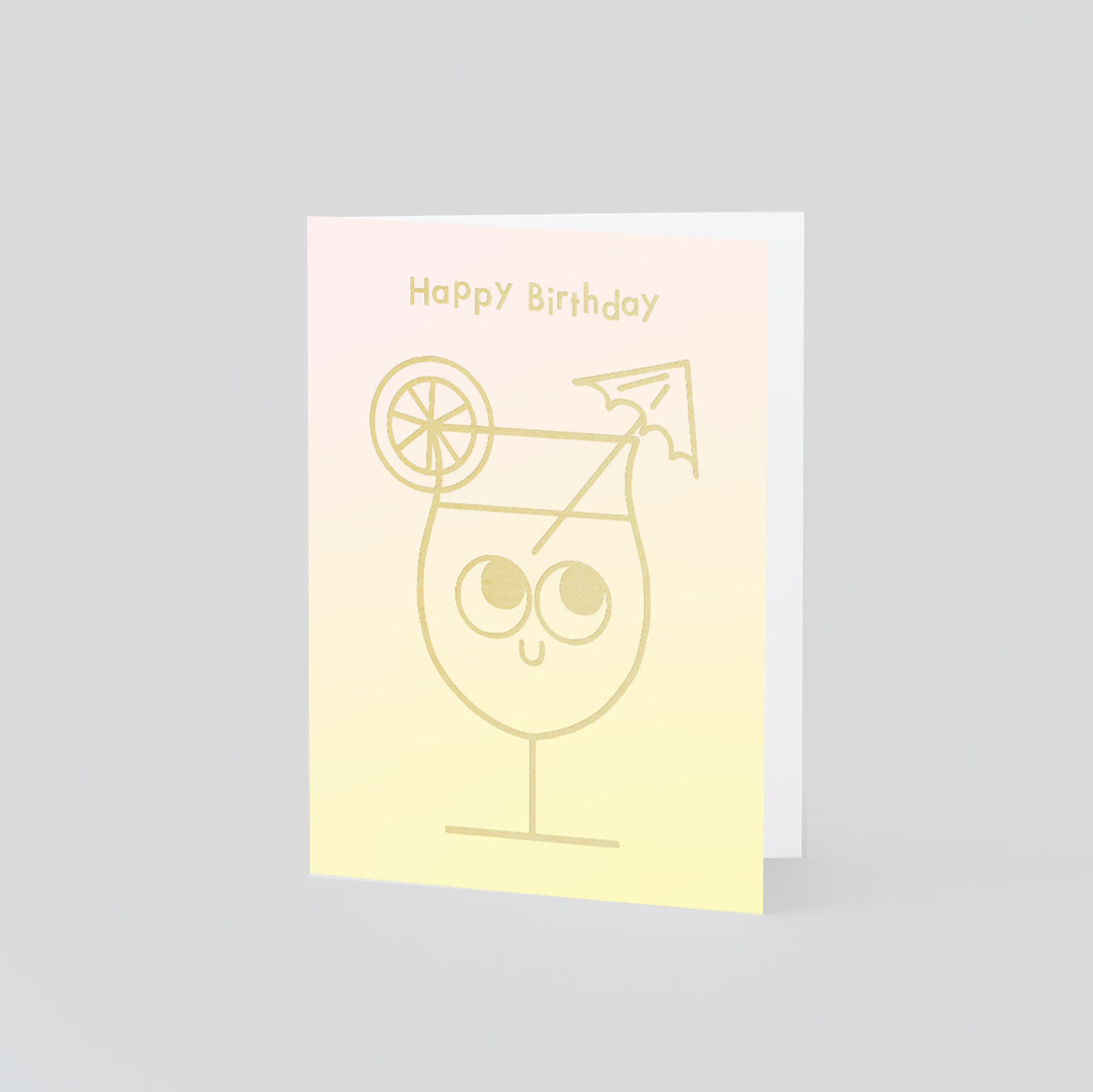 Elliot Kruszynski For Wrap - Happy Birthday Cocktail