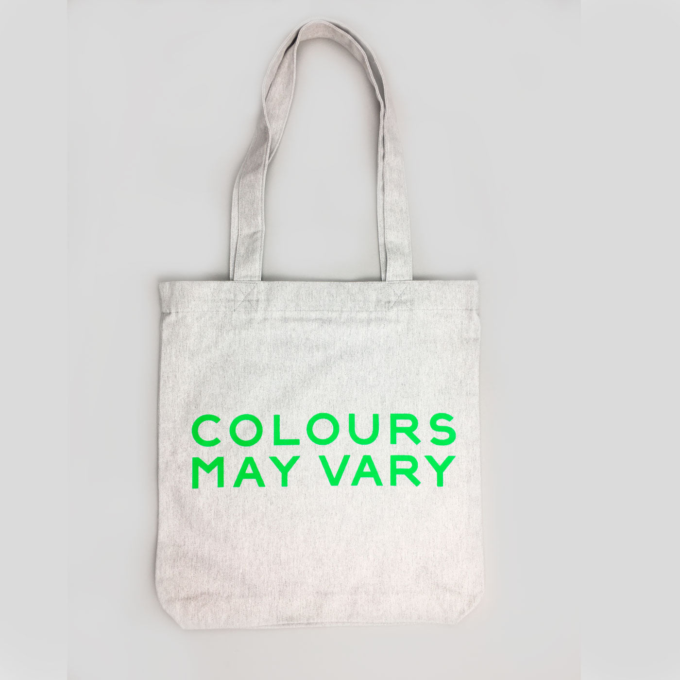 Colours May Vary Tote Bag - Special Edition Double Sided Fluro Sausage!