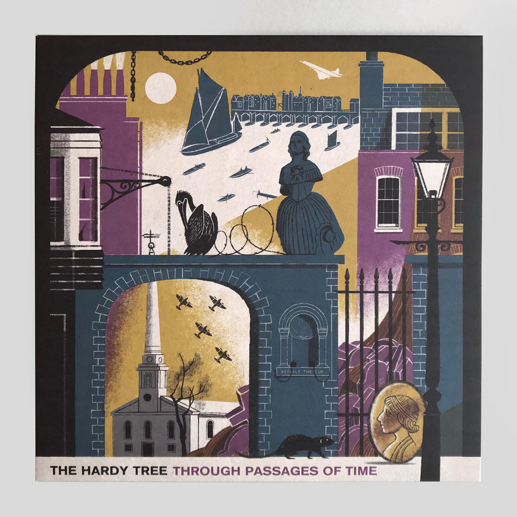 The Hardy Tree - Through Passages of Time - Clay Pipe - Frances Castle - Colours May Vary