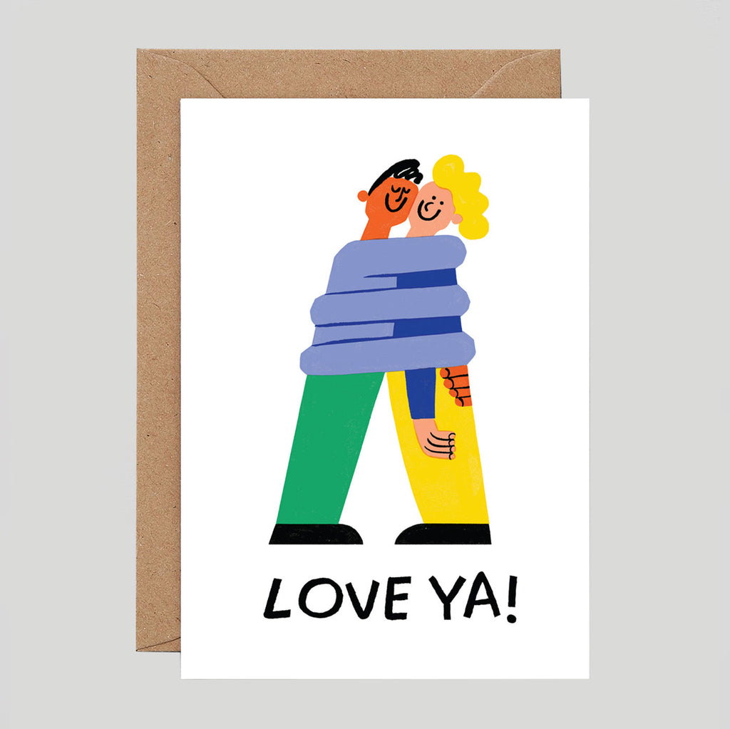 Cari Vander Yacht For Wrap - 'Love Ya!' Card