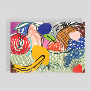 B.D. Graft for Wrap - Basket Card crd455 - Colours May Vary