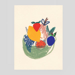 B.D. Graft for Wrap - Fruit Bowl Card | cmv