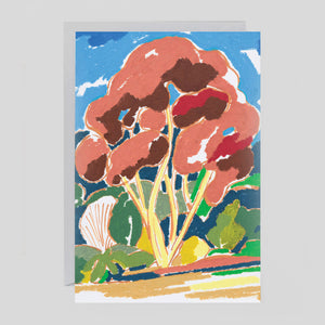 Charlotte Trounce for Wrap - 'Copper Tree' Card crd469 - Colours May Vary