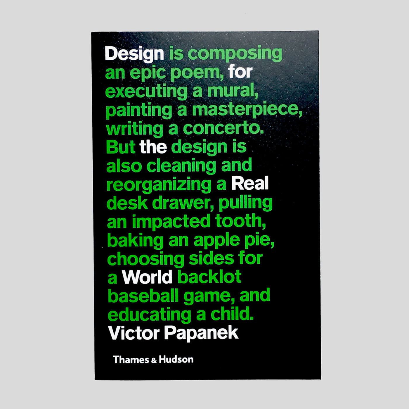 Design For The Real World by Victor Papanek