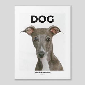Dog Magazine #7 'The Italian Greyhound' / Colours May Vary