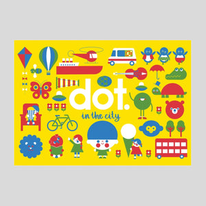 Dot In The City - Activity Book - Colours May Vary