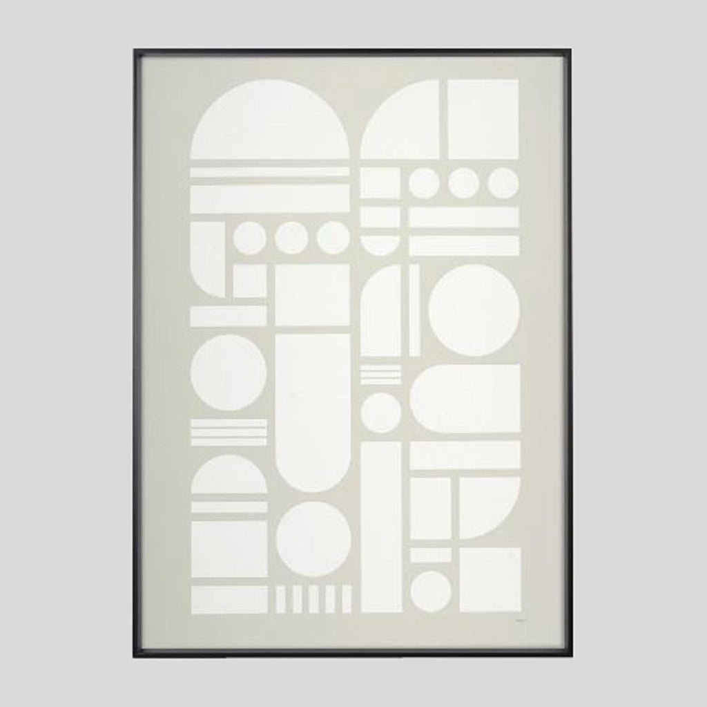 Element Grey Screenprint - Tom Pigeon - Colours May Vary