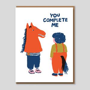 Egg press | 'Complete Me' Card | Colours May Vary