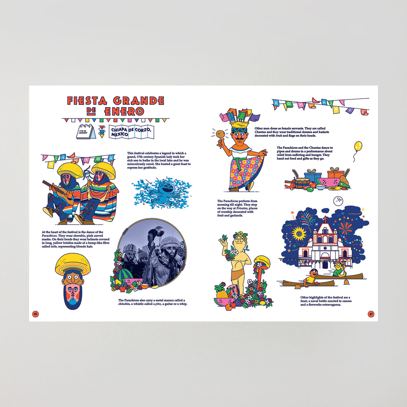 Festive Folk: An Atlas of Carnival and Costumes by Rob Flowers