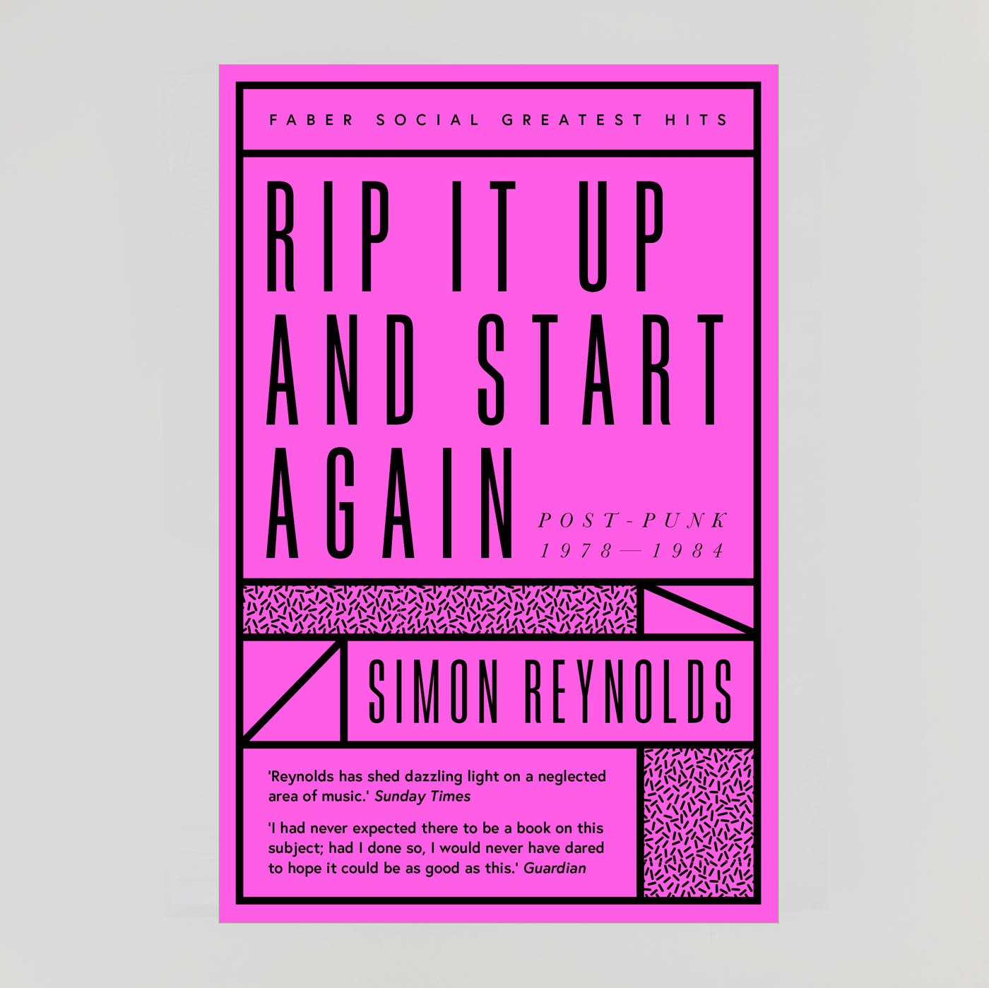 Rip It Up And Start Again: Postpunk 1978-84 | Simon Reynolds | Colours May Vary