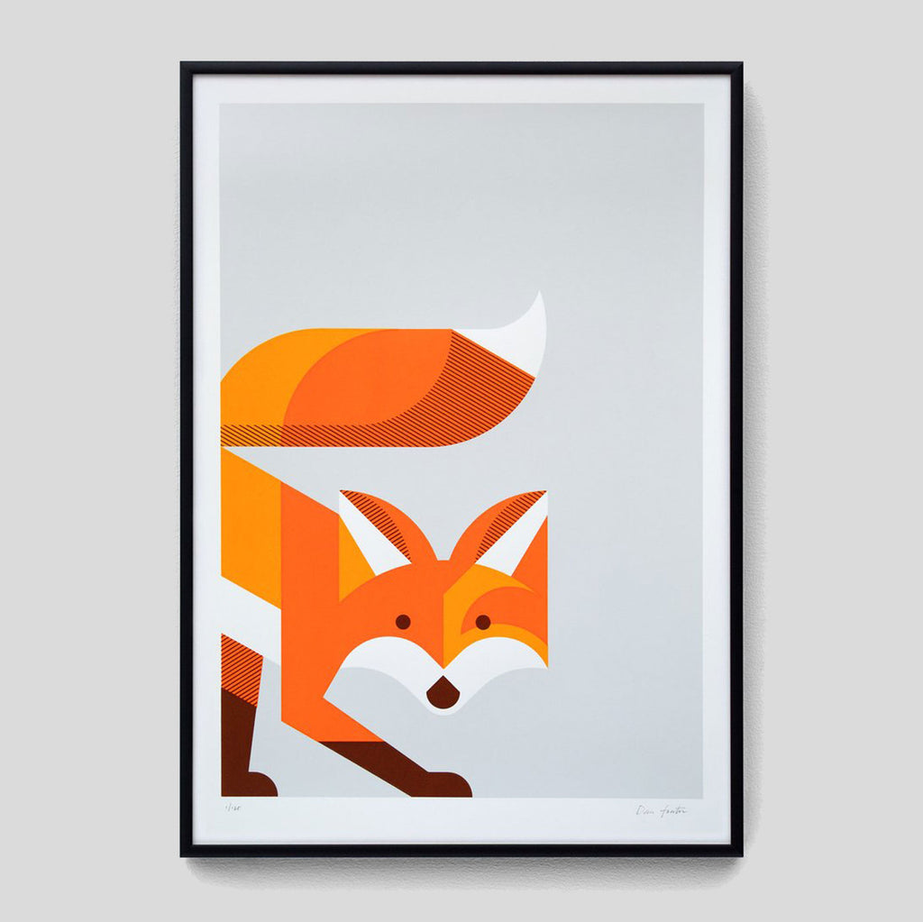 Fox ScreenPrint By The Lost Fox