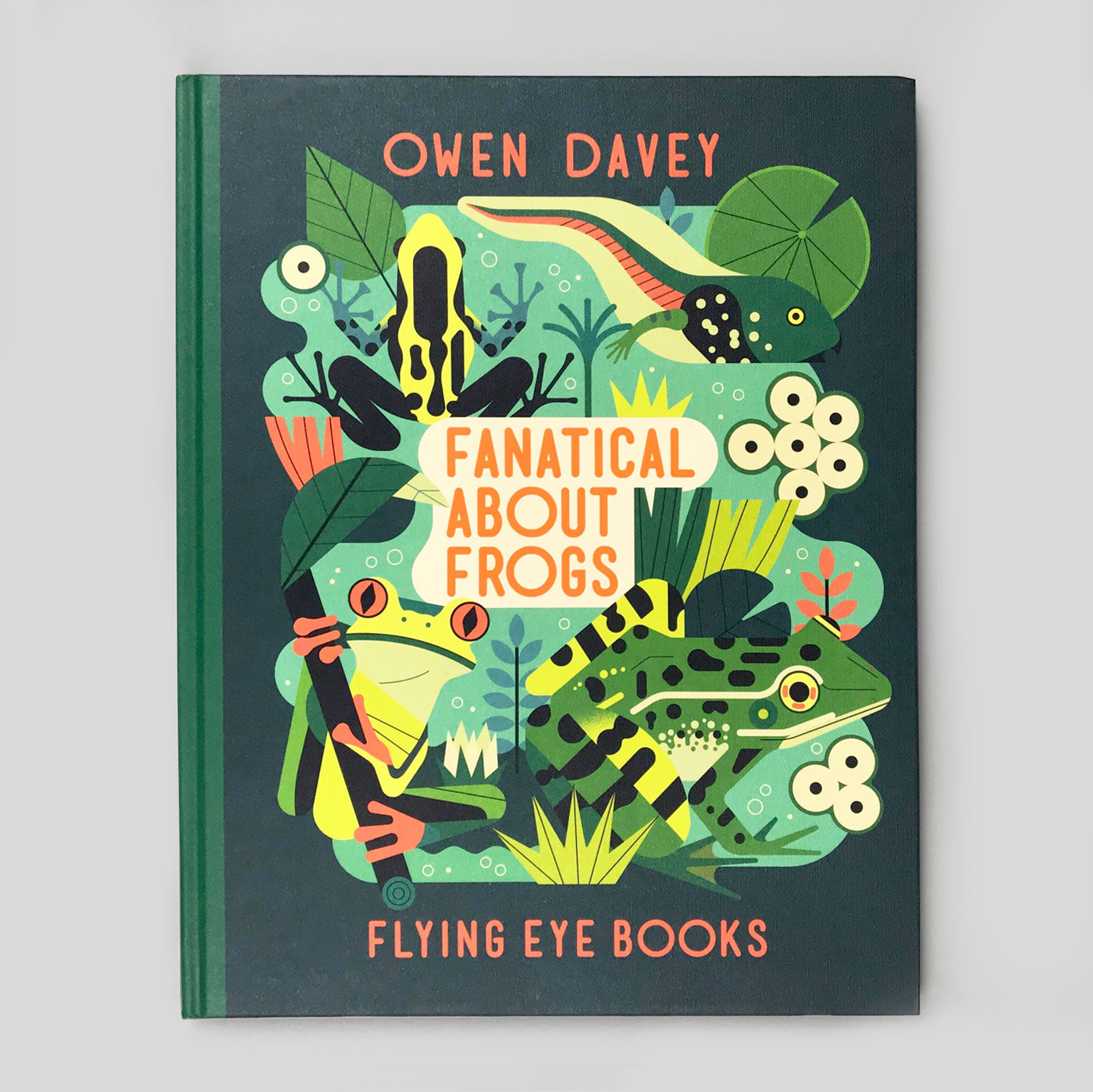 Fanatical About Frogs by Owen Davey - Colours May Vary