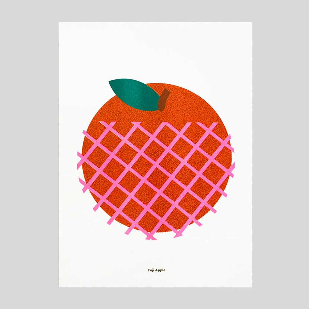 Fuji Apple A3 Print by Scout Editions