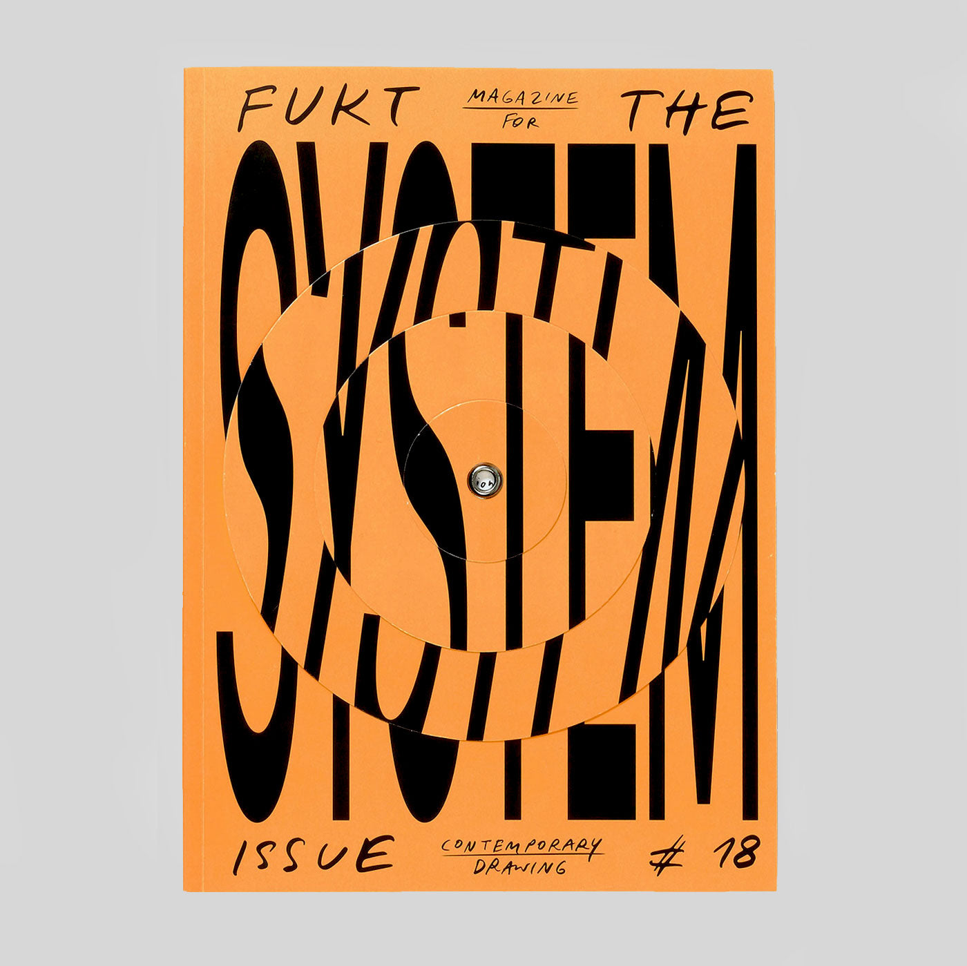 Fukt #18 The System Issue - Written Drawings