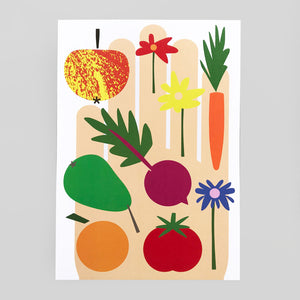 Lottie Hall | After The Garden Print | Colours May Vary