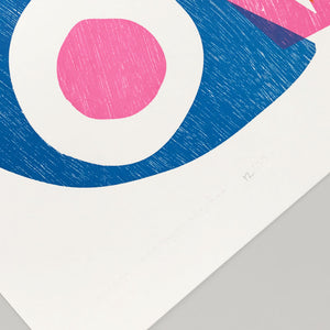 'Gather' Letterpress Print by The Print Project