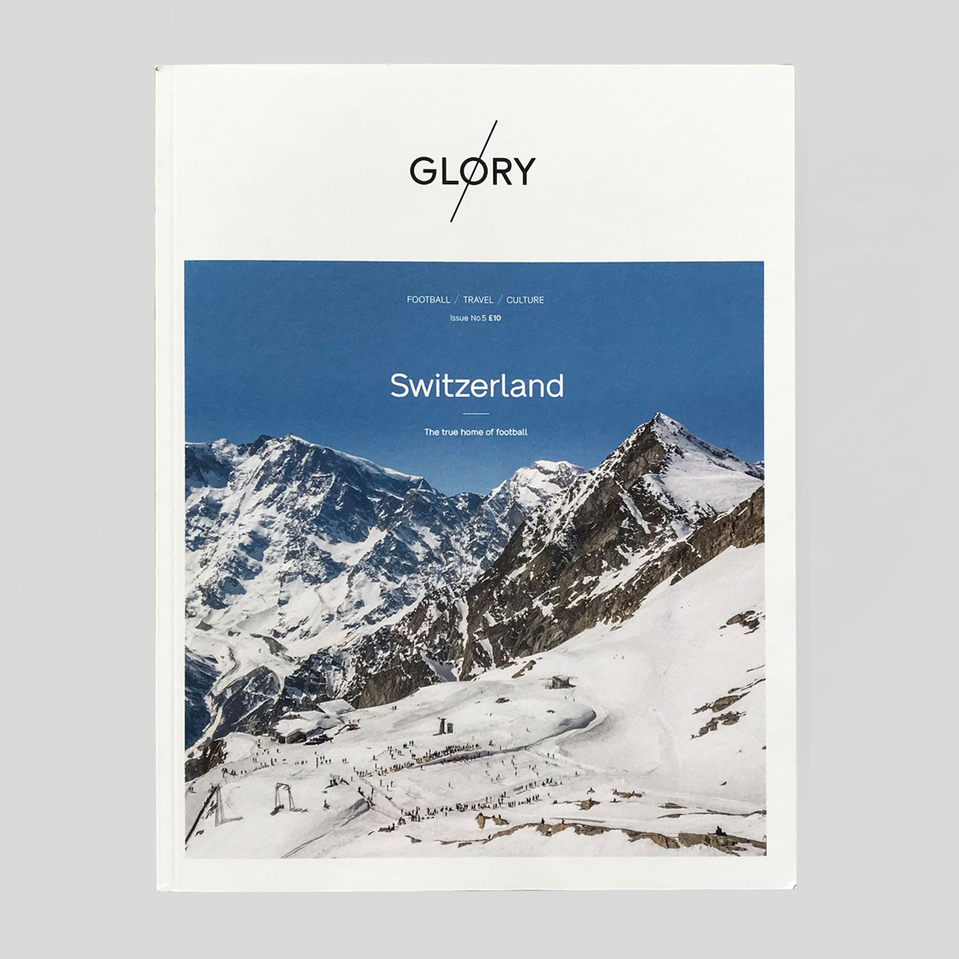 Glory Magazine #5 'Switzerland' | Colours May Vary