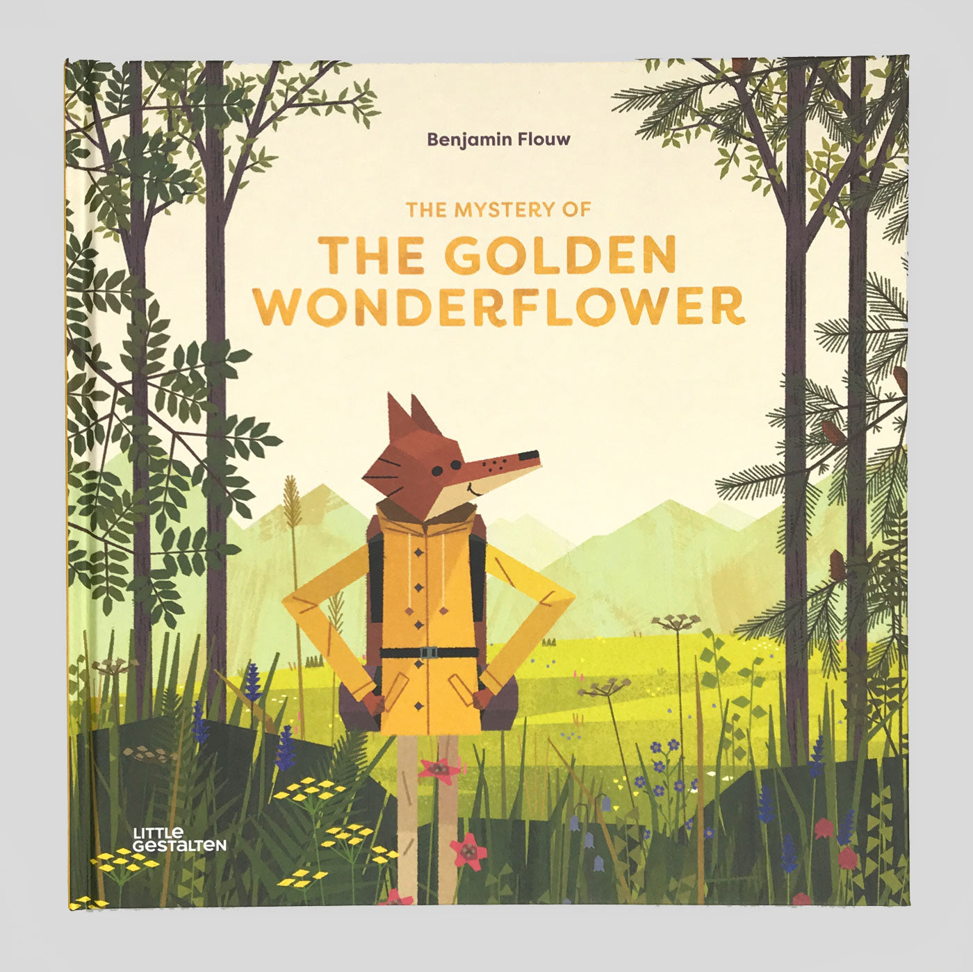 The Mystery of the Golden Wonderflower - Benjamin Flouw