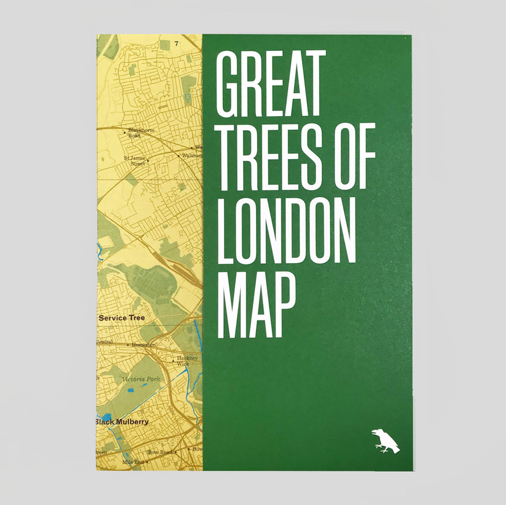 Great Trees of London Map | Colours May Vary