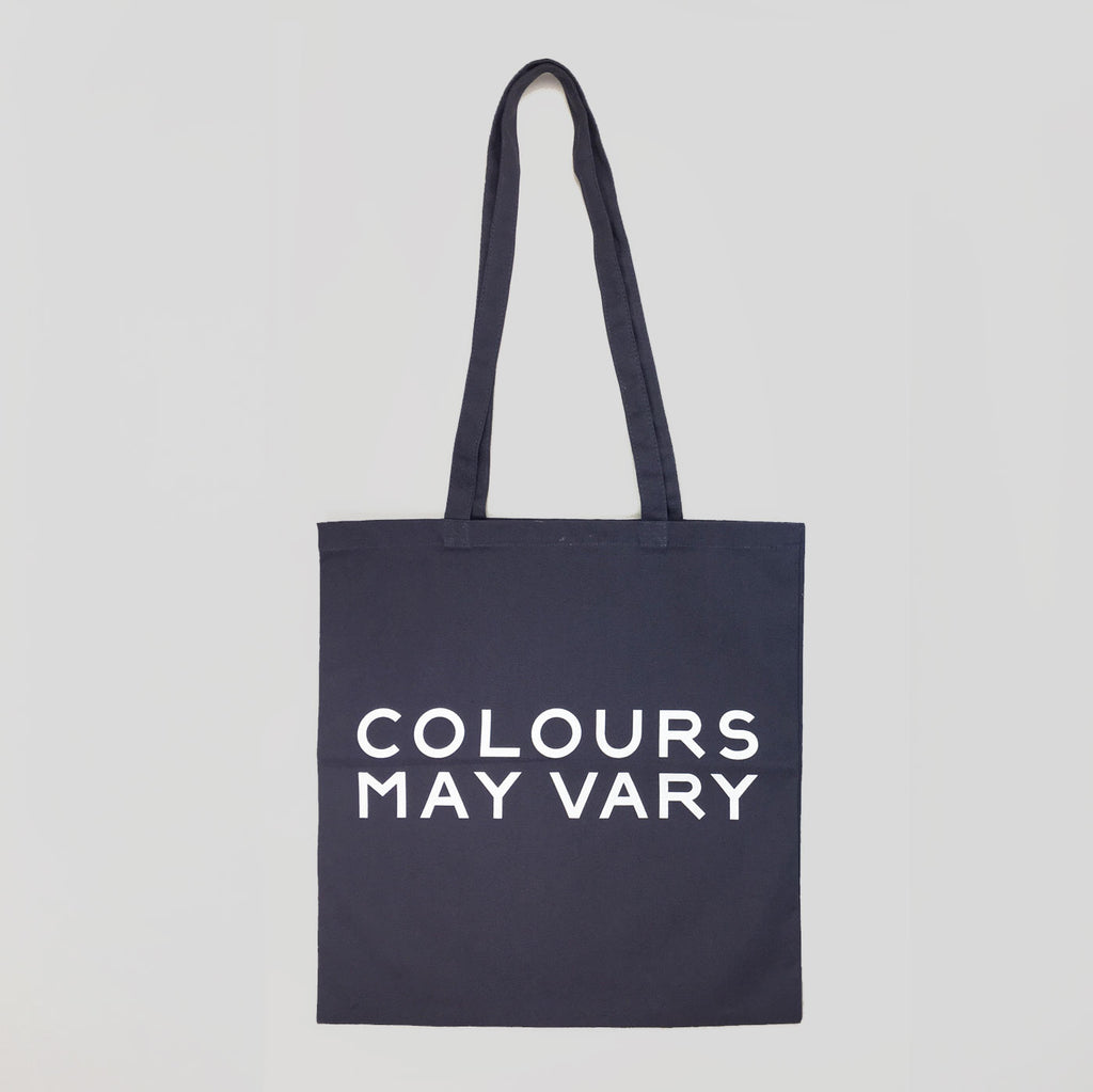Colours May Vary Tote Bag - Grey