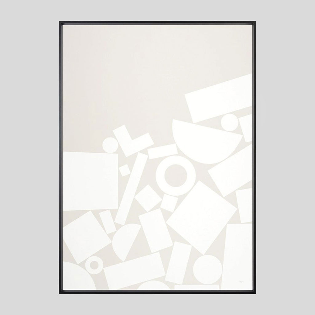 Grey Stack Screenprint - Tom Pigeon - Colours May Vary
