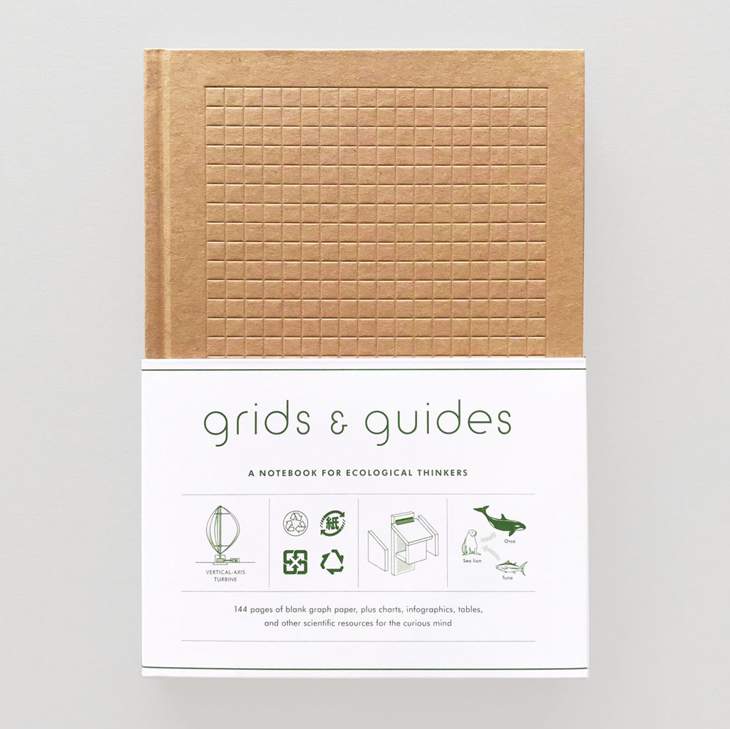 Grids & Guides Eco: A Notebook For Ecological Thinkers - Colours May Vary