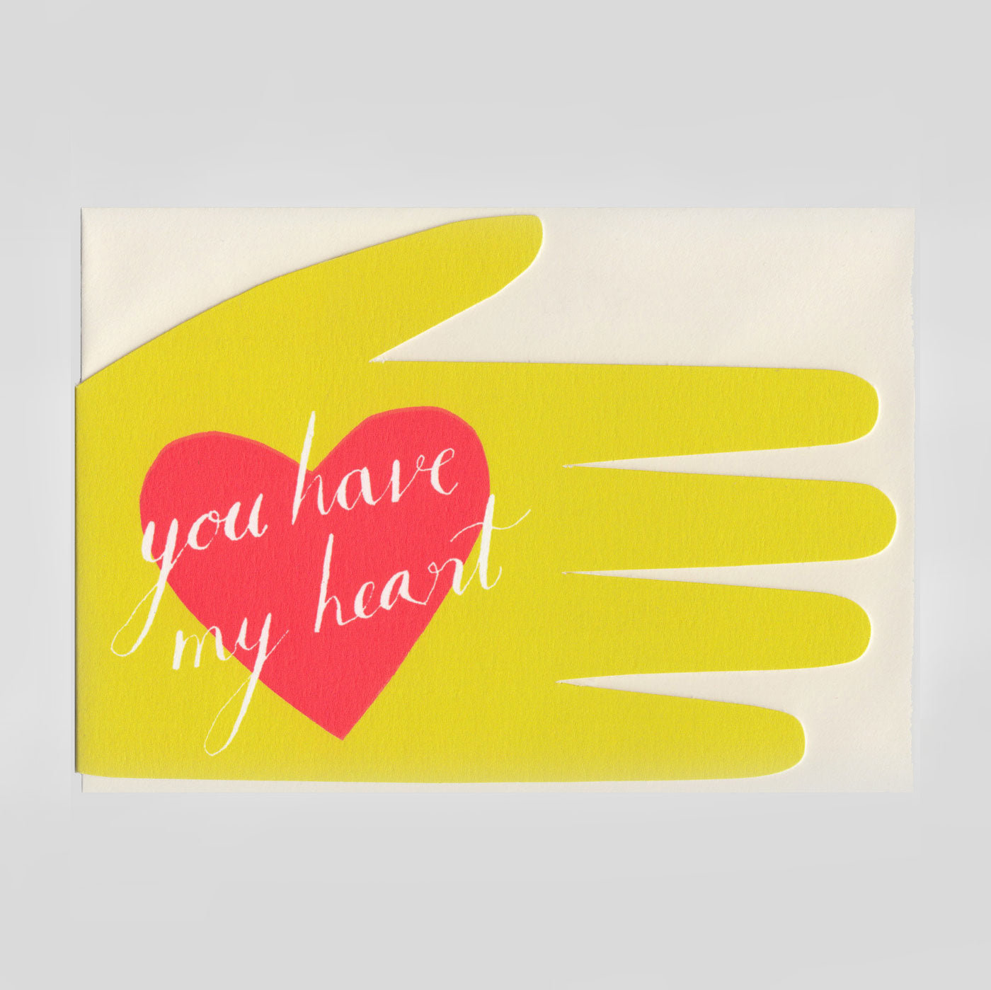 Hadley Paper Goods - You Have My Heart Card